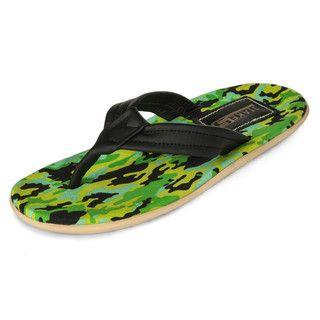 yeswalker - Camouflage Print Flip Flops