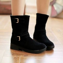 Pangmama - Buckled Ankle Boots