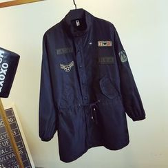 KASA - Badged Button Jacket