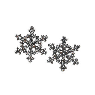 Crystal 'Snow Flake' Earrings
