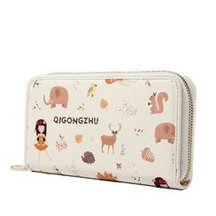 Princess Carousel - Print Long Wallet