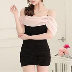 Champi - Off Shoulder Sheath Party Dress