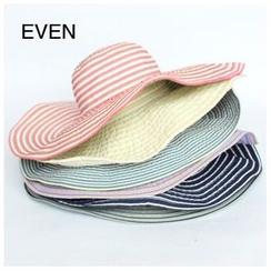 EVEN - 條紋太陽帽