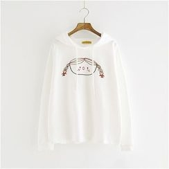 Storyland - Printed Hooded Pullover