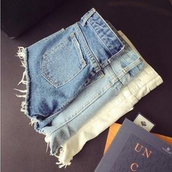 Glen Glam - Denim Hot Pants