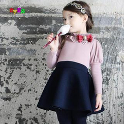 Cuckoo - Kids Color-Block Dress