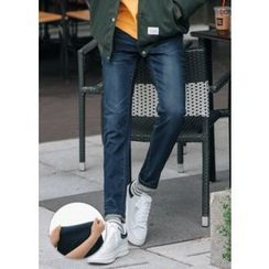 GERIO - Drawstring-Waist Jeans