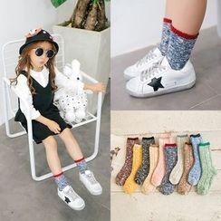 Cloud Femme - 兒童撞色襪子