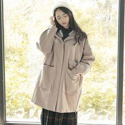 Ashlee - Hooded Long Coat
