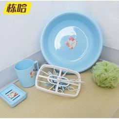 MOD HUT - Set: Print Bucket + Cup + Soap Holder + Hanger