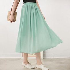 CatWorld - Chiffon Maxi Skirt