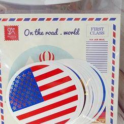 BABOSARANG - 'ON THE ROAD - WORLD' Sticker Set