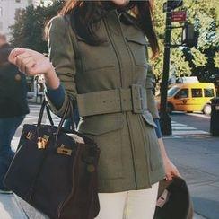 Aurora - 飾扣外套