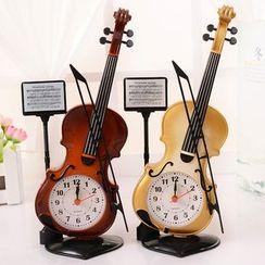 INTI - Violin Ornament with Clock