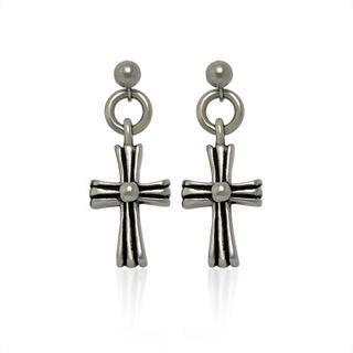MURATI - Single Cross Studs