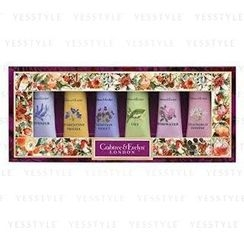 Crabtree & Evelyn - Hand Therapy Sampler Set: Lavender + Rose + Lily + Venitian + Florentine + Jasmine