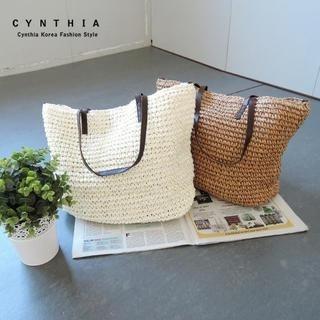 CYNTHIA - Straw Tote