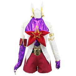 Cosgirl - League of Legends Star Guardian Jinx Cosplay Costume