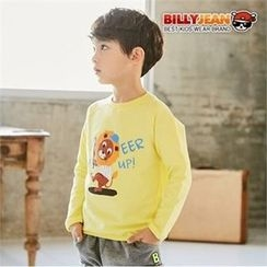 BILLY JEAN - Boys Raglan-Sleeve Lion Print T-Shirt