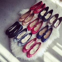 Linda Lane - 饰蝶结平底鞋