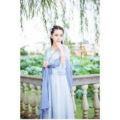 GOGO Girl - Frilled Chiffon Dress