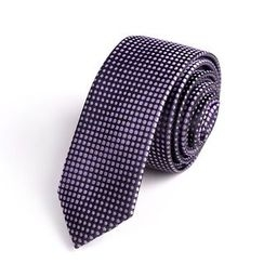 Xin Club - Dotted Slim Neck Tie (5cm)