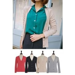 PPGIRL - V-Neck Cardigan