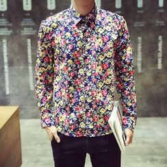 Keerme - Long-Sleeve Printed Shirt