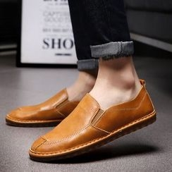 MARTUCCI - Faux-Leather Loafers
