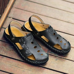 Shino - Genuine-Leather Sandals