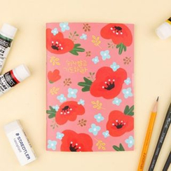 iswas - 'Gracebell Worship Story' Series Floral Notebook - (S)