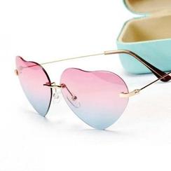 Ofel - Heart-Frame Sunglasses