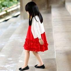 Wind Town - Kids Sleeveless Paneled Dress