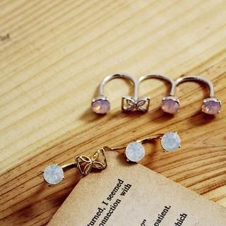 Gossip Girl - Jeweled Bow-Accent Ring