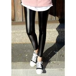 DEEPNY - Faux-Leather Leggings