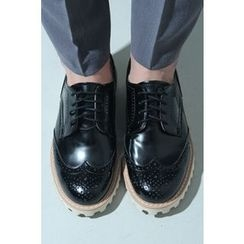 Ohkkage - Wing-Tip Oxfords