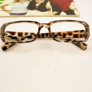 Cuteberry - Leopard-Print Spectacle Frame