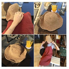 FROME - Foldable Straw Hat