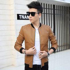 Walwa - Faux Leather Jacket