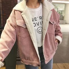 Jolly Club - Fleece-Lined Corduroy Jacket