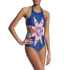 Rivergirl - Patterned Swimsuit