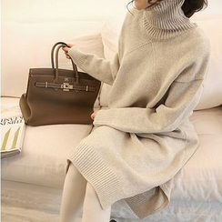 Tulander - Turtleneck Knit Dress
