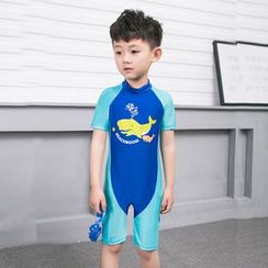 Aqua Wave - Kids Short Sleeve Swimsuit
