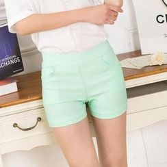 Cotton Dream - Elastic Waist Shorts