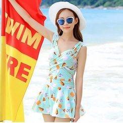 Rachel Swimwear - Print Swimdress
