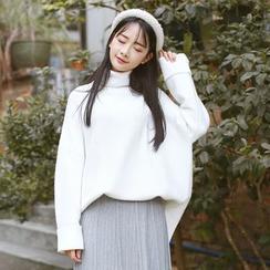 Sens Collection - Plain Turtleneck Sweater