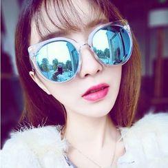 UnaHome Glasses - 粗款圆片太阳镜