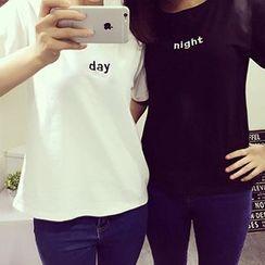 Melon Juice - Couple Matching Print Short-Sleeve T-Shirt