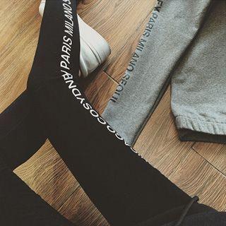 Rocho - Letter  Leggings