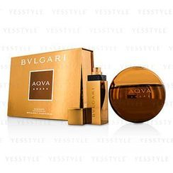 Bvlgari - Aqva Amara Coffret: Eau De Toilette Spray 100ml/3.4oz + Eau De Toilette Spray 15ml/0.5oz